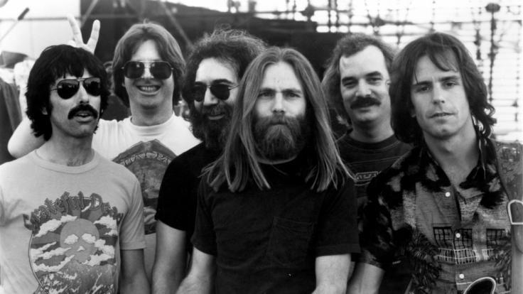 Robert Hunter ist tot. Das Mitglied der Band Grateful Dead (2.v.r.) verstarb am Montag.