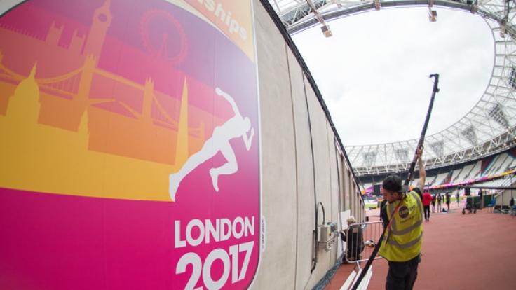 Am Freitag startet die Leichtathletik-WM in London.