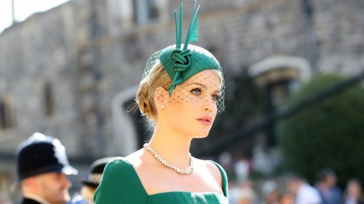 Lady Kitty Spencer, die Nichte der verstorbenen Prinzessin Diana, war als Gast zur Hochzeit von Prinz Harry und Meghan Markle geladen. (Foto)