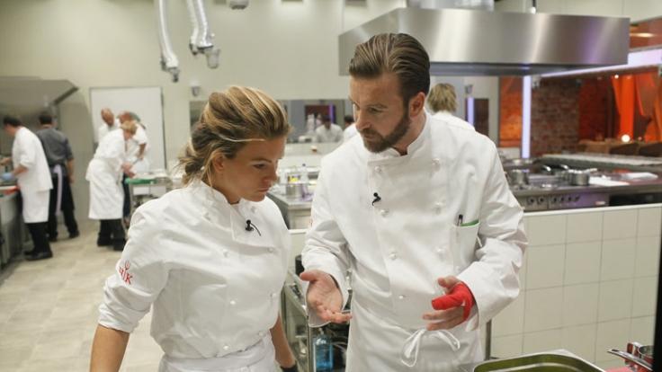 In der zweiten Folge von «Hell's Kitchen» bei Sat.1 geraten Katharina Kuhlmann und Niels Ruf extrem aneinander. Wie wird die Eskalation enden?