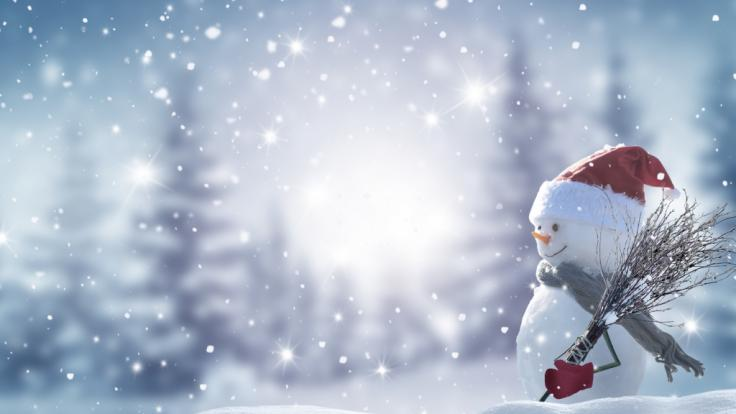 Einige Regionen in Deutschland dürfen sich vielleicht über Weiße Weihnachten freuen. (Foto)