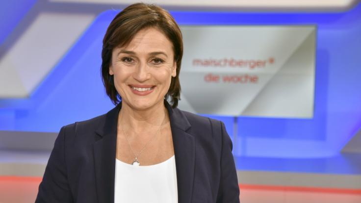 Sandra Maischberger geht jeden Mittwoch auf Sendung. (Foto)