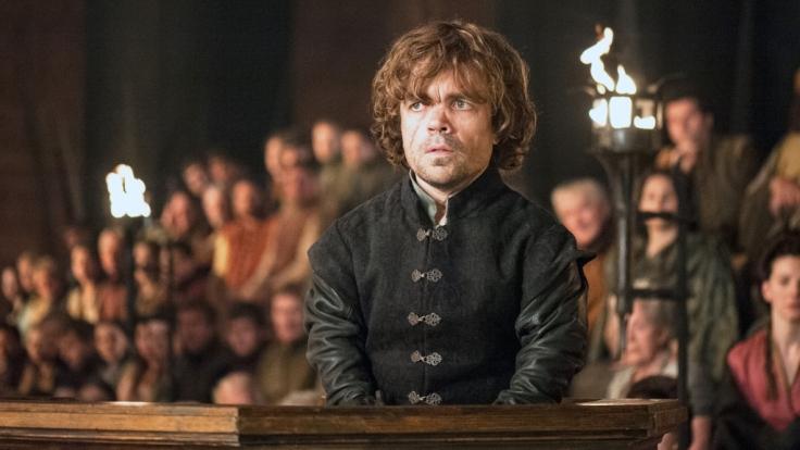 Zwerg Tyrion vor Gericht. (Foto)