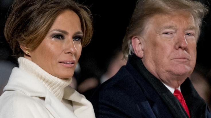 Melania Trump ist einer Umfrage zufolge immer unbeliebter. (Foto)