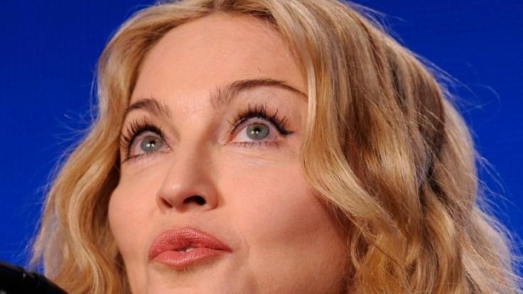 So kennen wir Madonna eigentlich.