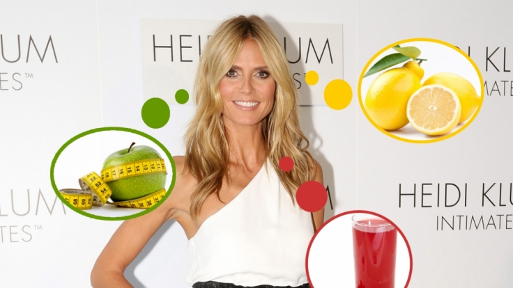 Heidi Klum ist mit 41 Jahren schlanker denn je.