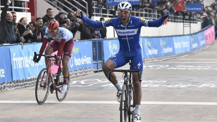 Nils Politt verpasst ganz knapp den Sieg bei Paris-Roubaix. (Foto)