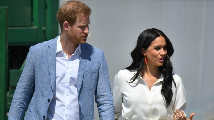 Die Mehrheit der Briten möchte Meghan Markle und Prinz Harry nach dem Megxit die royalen Titel entziehen.
