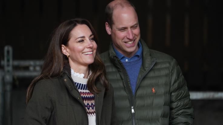 Herzogin Kate und Prinz William feierten am 29. April 2021 ihren zehnten Hochzeitstag. (Foto)
