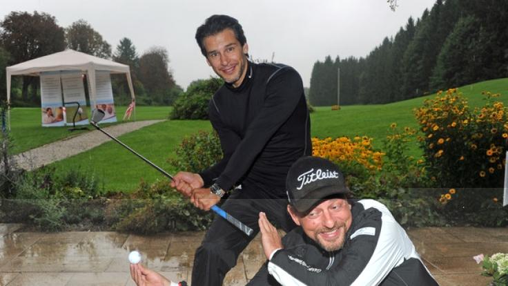 Florian Odendahl spielt privat gern Golf. (Foto)