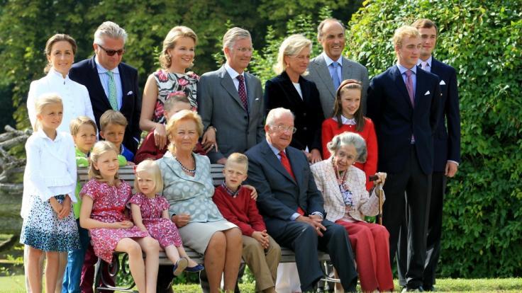 Der begehrte britische Prinz Joachim (Mitte, links) (Foto)