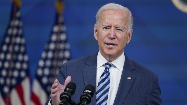 Joe Biden hat sich auch in dieser Woche blamiert. (Foto)