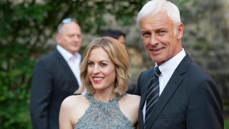 Jule Gölsdorf mit ihrem Ex-Freund, dem ehemaligen VW-Chef Matthias Müller. (Foto)