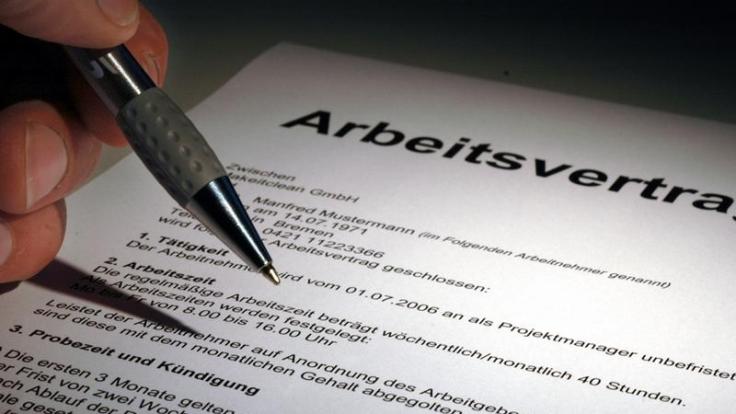 Änderung beim Arbeitsvertrag (Foto)