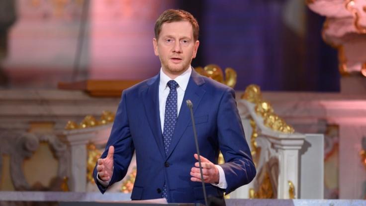 Sachsens Ministerpräsident Michael Kretschmer (CDU) hält eine Verlängerung des Corona-Lockdowns für unvermeidbar. (Foto)