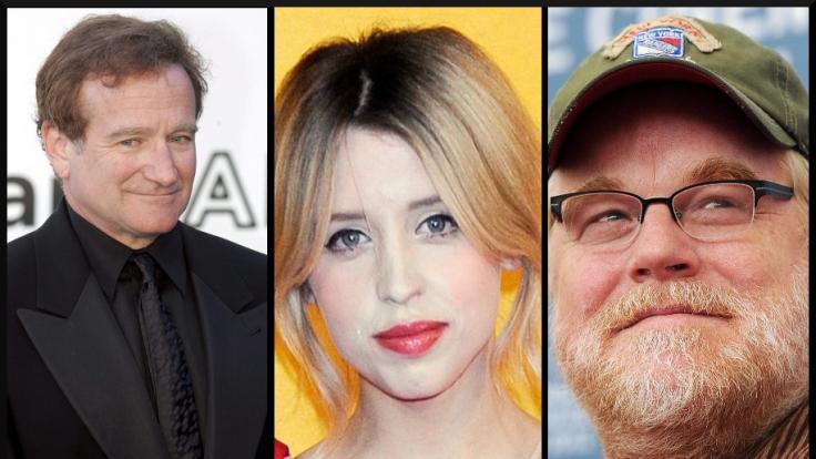 Auch von Robin Williams, Peaches Geldof und Philip Seymour Hoffman mussten wir 2014 Abschied nehmen.