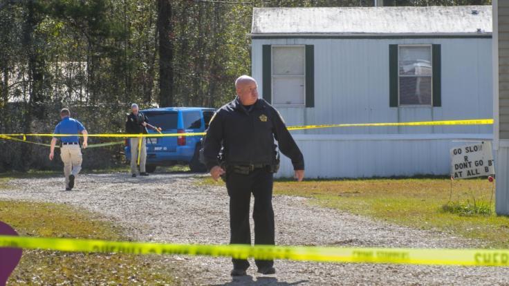 In der Nähe von Baton Rouge im US-Bundesstaat Louisiana richtete ein 21-Jähriger ein Blutbad an, nachdem er seine Freundin und vier Angehörige erschoss. (Foto)
