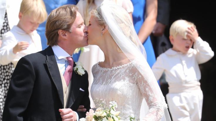 Lady Gabriella Windsor und Thomas Kingston haben geheiratet (Foto)