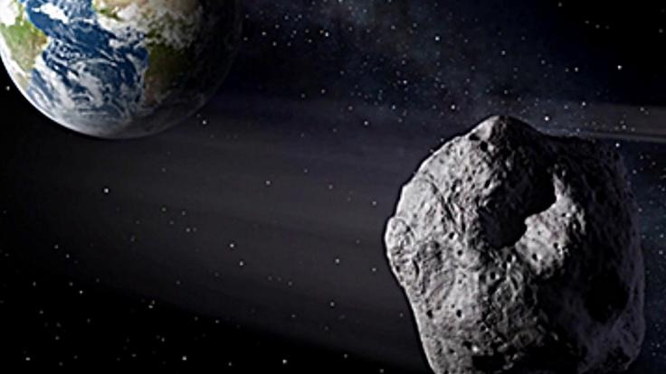 Ein riesiger Asteroid ist auf dem Weg Richtung Erde (Symbolbild).