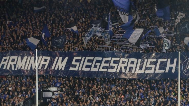 Arminia Bielefeld bekommt von seinen Fans ungebrochen Rückhalt. (Symbolbild) (Foto)