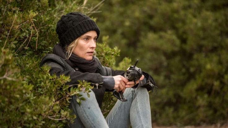 """Diane Kruger in einer Szene des Films """"Aus dem Nichts"""" von Fatih Akin. (Foto)"""