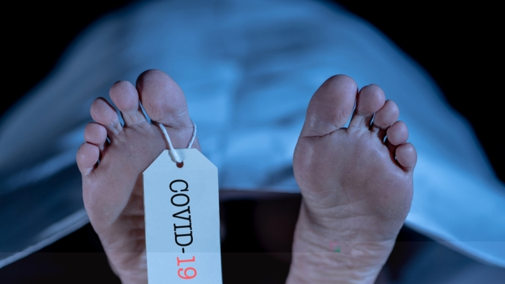 In Argentinien starb eine Lehrerin vor den Augen ihrer Schüler am Coronavirus. (Symbolbild)