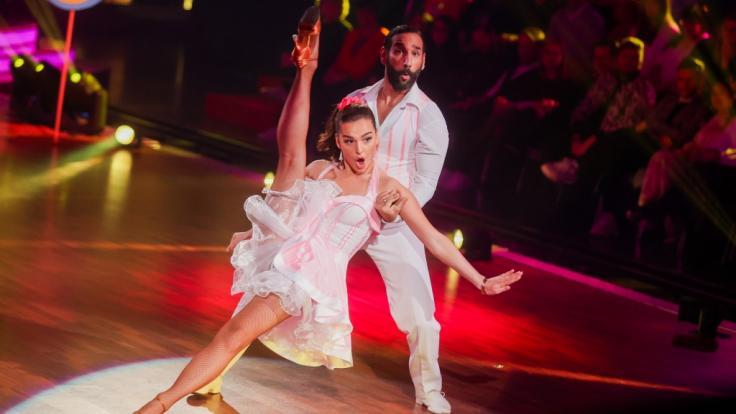 """""""Let's Dance""""-Kandidatin Lili Paul-Roncalli und Massimo Sinató werden in der 3. Live-Show am 13.03. einen Slowfox tanzen. (Foto)"""
