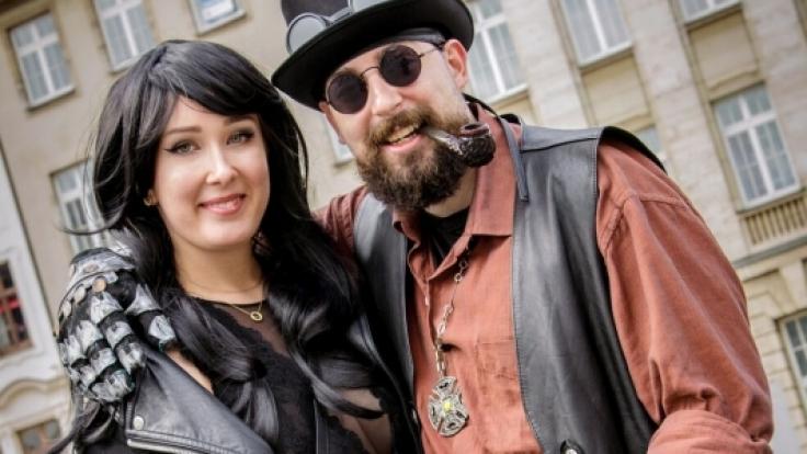 Zu Pfingsten treffen sich jedes Jahr Szene-Gänger aus aller Welt in Leipzig. (Foto)