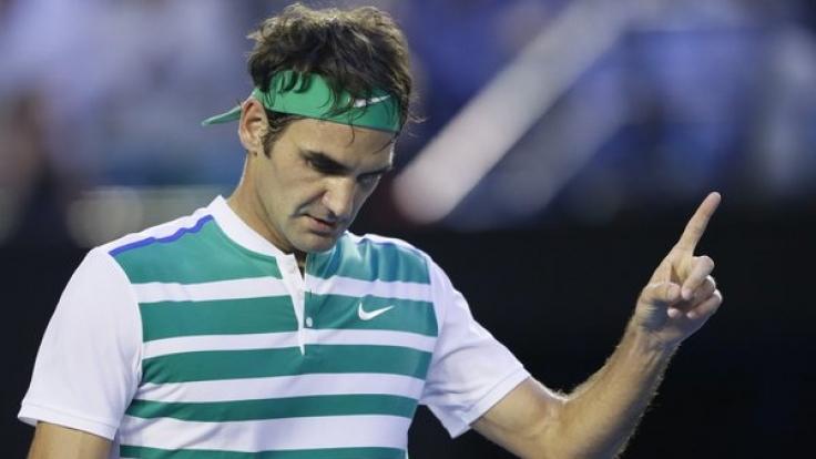 Roger Federer ist einer der besten Tennisspieler der Welt.