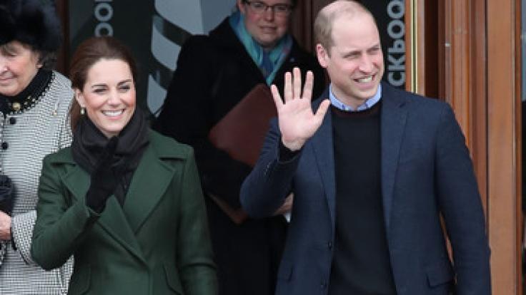 Kate Middleton und Prinz William waren in Blackpool zu Gast.