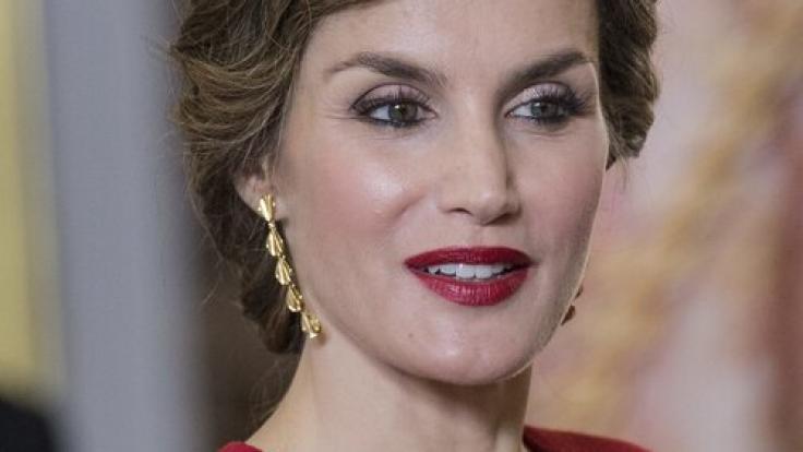 Königin Letizia von Spanien und ihr eingefrorenes Lächeln. (Foto)