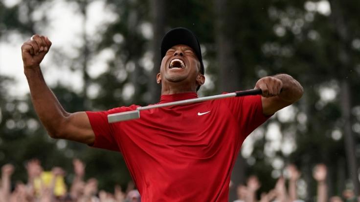 14 Jahre nach seinem letzten Sieg im Augusta National Golf Club triumphiert Tiger Woods erneut beim Masters.