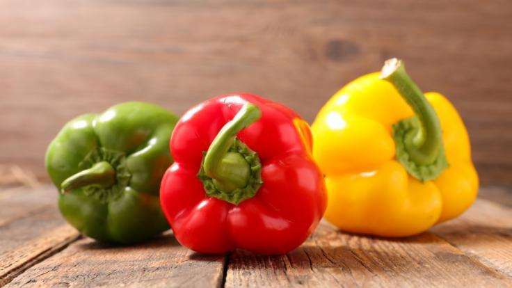 Ein bestimmter Paprika-Mix wird aktuell zurückgerufen.