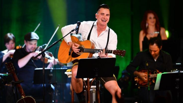 Andreas Gabalier war 2017 auf MTV-Unplugged-Tour.