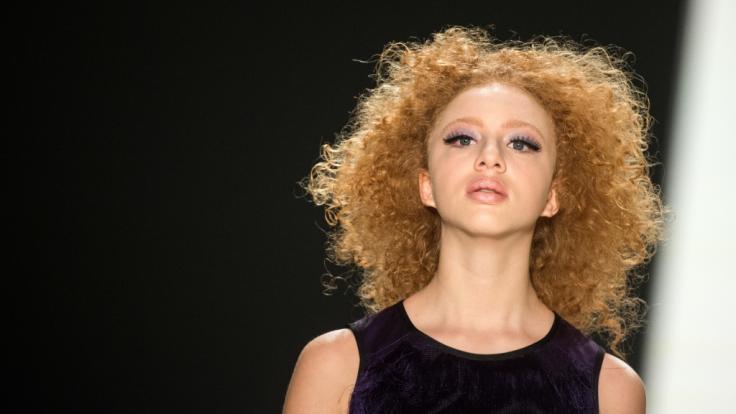 Anna Ermakova hat sich mit ihren 20 Jahren bereits als Model etabliert. (Foto)