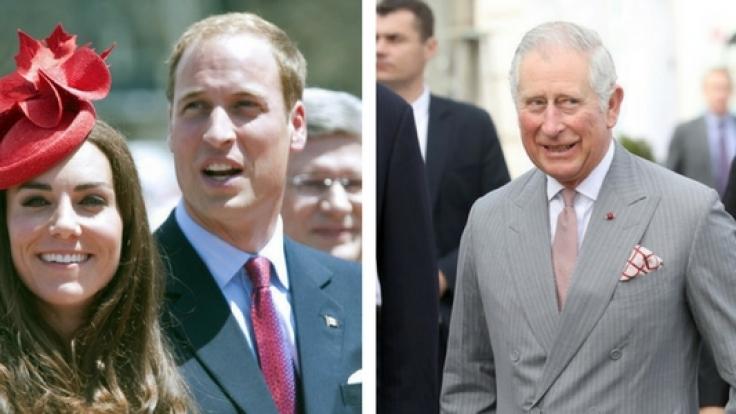 Ist Prinz Charles zu krank für die britische Krone? Die Queen wünscht sich Prinz William und Kate Middleton auf den Thron.