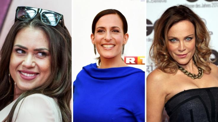 """Jessica Paszka, Ulrike Frank und Sonja Kirchberger sind nur drei Promi-Damen, die bereits nackt im """"Playboy"""" sowie als Kandidatinnen bei """"Let's Dance"""" zu sehen waren. (Foto)"""