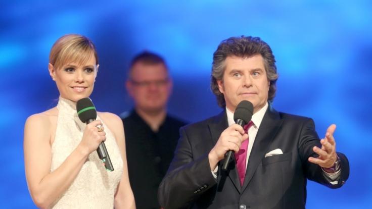 """Andy Borg wird beim """"Musikantenstadl"""" von Francine Jordi beerbt. (Foto)"""