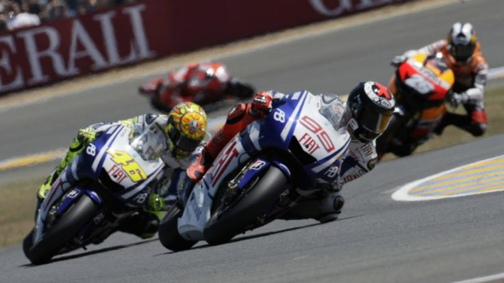 Der Motorrad-Grand Prix von Frankreich in Le Mans muss wegen der Coronavirus-Pandemie ebenfalls verschoben werden. (Foto)