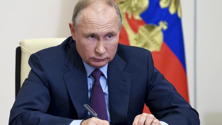 Wladimir Putin wurde angeblich bestohlen. (Foto)