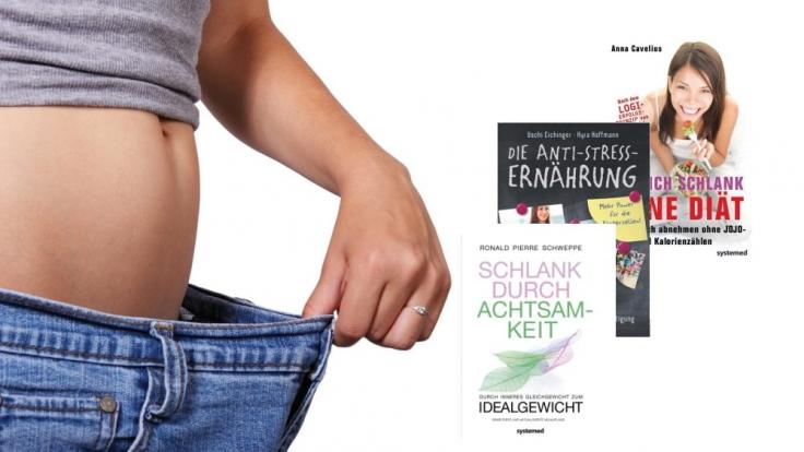 News.de stellt Ihnen drei Bücher vor, mit denen Sie erfolgreich abnehmen können.