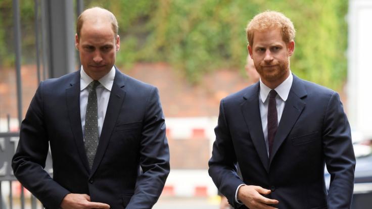 Prinz William und Prinz Harry mussten bei ihrem Kindermädchen strenge Regeln einhalten. (Foto)