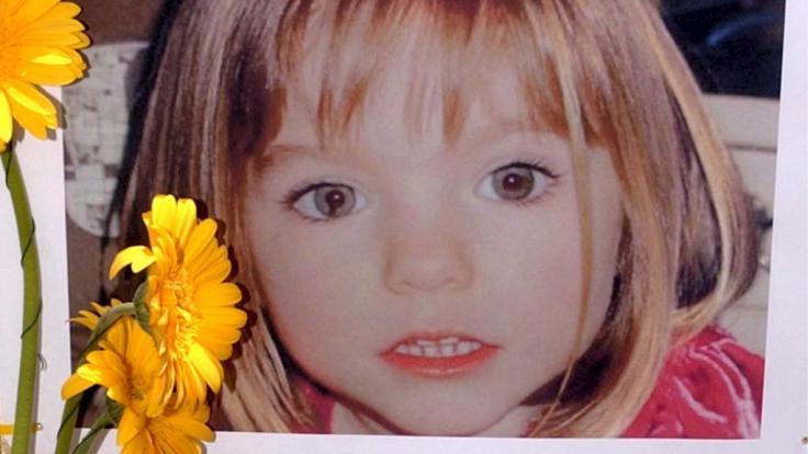 Die damals drei Jahre alte Madeleine McCann verschwand im Mai 2007 spurlos aus einer Ferienanlage in Portugal.