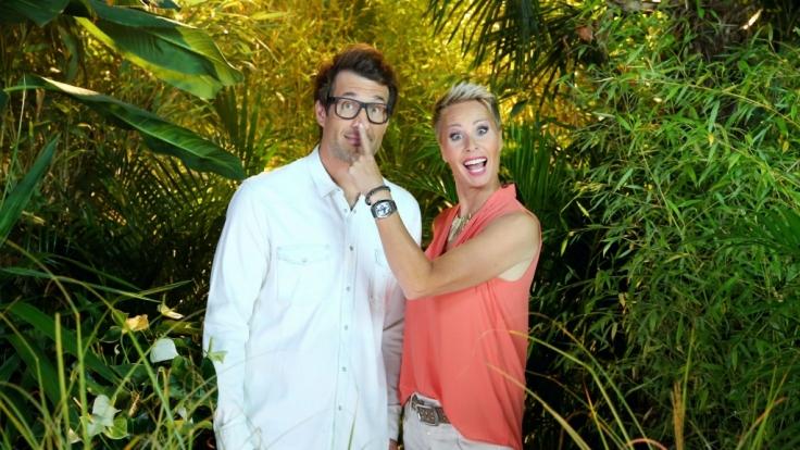 """Daniel Hartwich und Sonja Zietlow moderieren auch die elfte Staffel von """"Ich bin ein Star, holt mich hier raus!"""", die am 13. Januar 2017 bei RTL anläuft. (Foto)"""