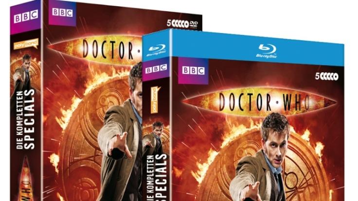 Zum 50. Jubiläum von «Doctor Who» erschien am 23. November 2013 ein großes Special des zehnten Doktors.