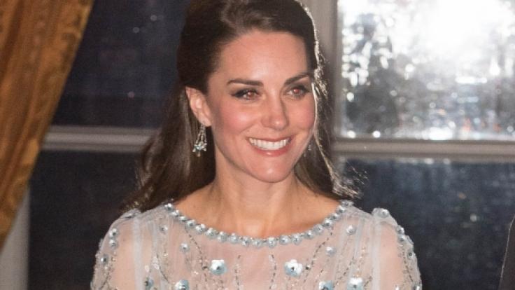 Herzogin Kate übte sich früh in Schauspielerei.