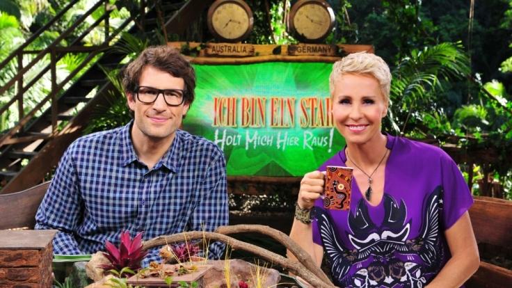 Sonja Zietlow und Daniel Hartwich freuen sich schon auf den Sieger des diesjährigen Dschungelcamps.