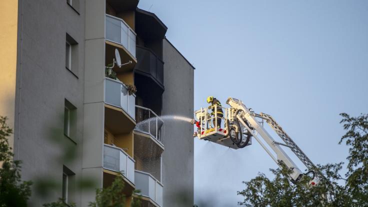 Im tschechischen Bohumin sind bei einem Hochhausbrand mindestens elf Menschen ums Leben gekommen.