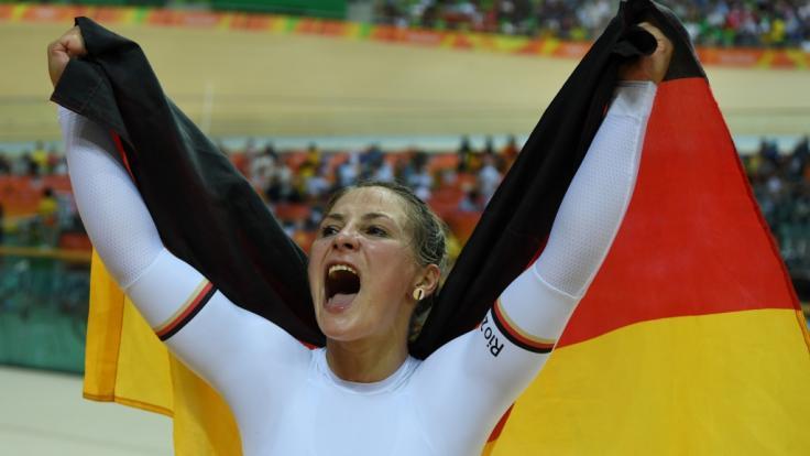 Nach einem Trainingssturz ist Olympia-Siegerin Kristina Vogel querschnittsgelähmt.