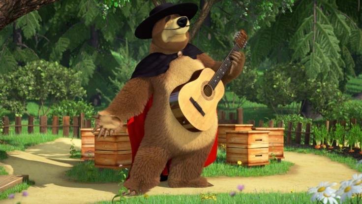 Maschas Lieder - Mascha und der Bär bei KiKA